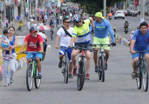 El Imdri anunció que este domingo retorna la ciclovía a Ibagué