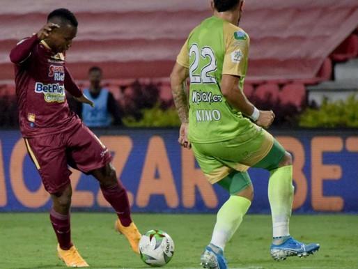 Tolima venció a Jaguares y es el nuevo líder de la Liga