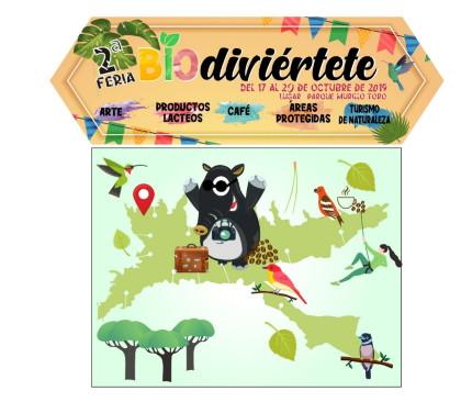 """Alístate para asistir a la segunda feria de Biodiversidad """"Biodiviértete con la naturaleza"""""""