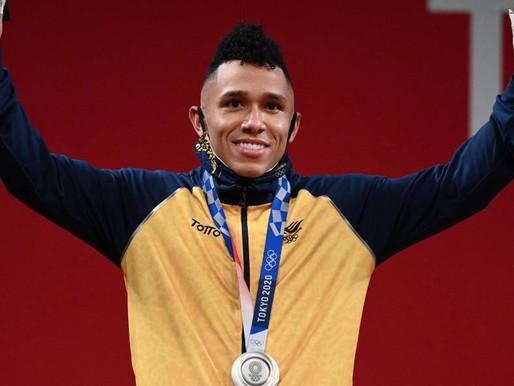 El vallecaucano Luis Mosquera ganó la primera medalla de Colombia en Tokio 2020