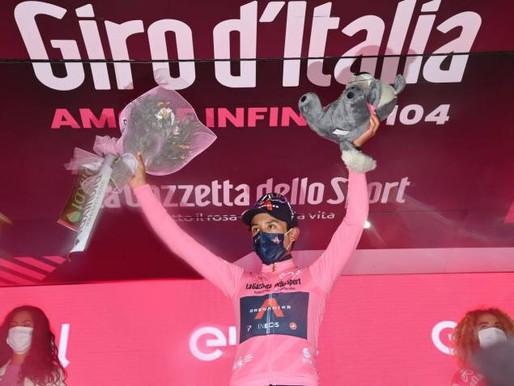 Egan Bernal es el nuevo líder del Giro de Italia.