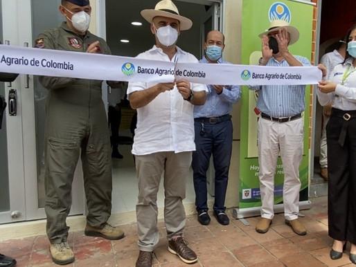 Se inauguró en Melgar nueva oficina bajo el esquema Banco Agrario Más Cerca
