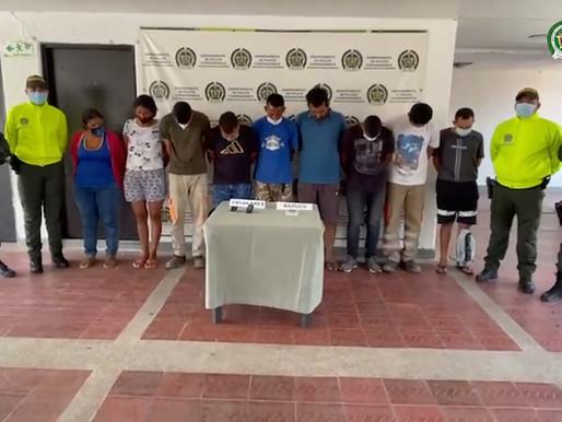 Fiscalía impactó a banda delictiva denominada Los Tamal dedicada al tráfico de drogas en el Tolima