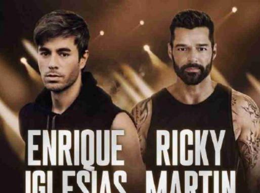 Se confirma la gira de Ricky Martin y Enrique iglesias por los Estados Unidos