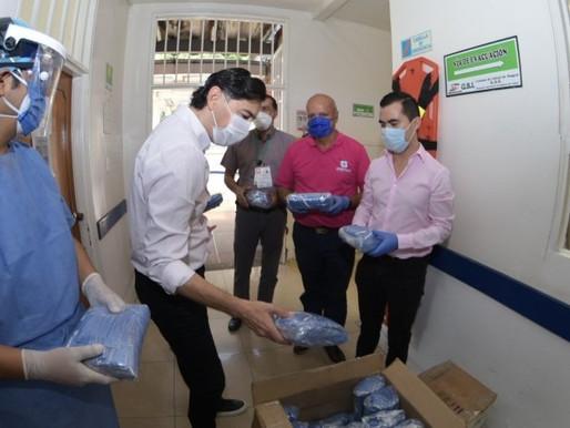 Droguerías Copifam donó 5.000 tapabocas para el personal de la Unidad de Salud de Ibagué