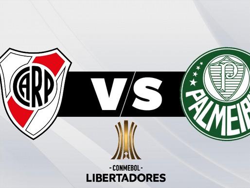 River vs. Palmeiras, duelo de históricos en la Copa Libertadores