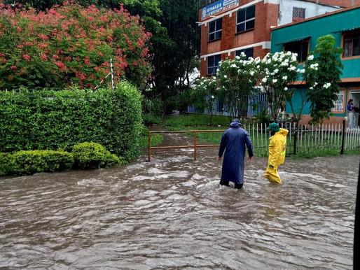 Organismos de socorro atendieron emergencias por lluvias en Ibagué