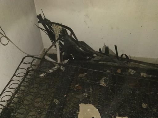 Organismos de socorro atendieron incendio estructural en Reservas de San Fermín