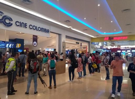 Cine Colombia cierra todas sus salas como prevención por coronavirus