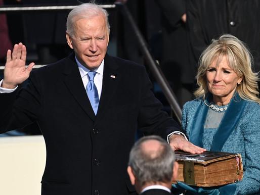 Biden juró como el presidente número 46 de Estados Unidos
