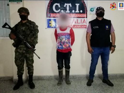 Judicializadas dos personas por delitos sexuales contra menores en el Tolima