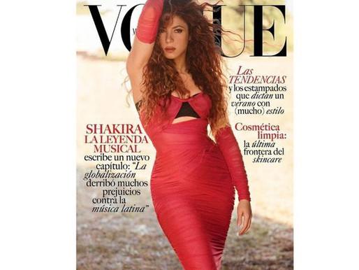 Shakira es portada por primera vez de la revista Vogue