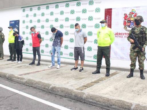 Desmantelan la banda 'Los Motor Mouse' en Ibagué