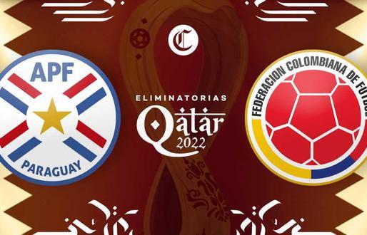 Colombia visita a Paraguay con la misión de volver al triunfo en las Eliminatorias