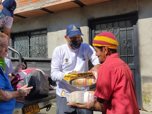 Familias de La Martinica afectadas por lluvias recibieron ayudas humanitarias