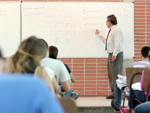 Profesores que no dicten clases presenciales no tendrán salario