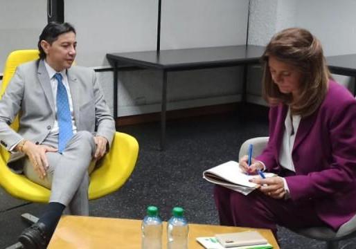 """""""A Ibagué, nuestro gran compromiso de trabajar por esa tierra"""", Ramírez"""