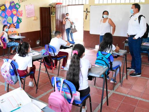 Avanza con normalidad el regreso a clases en presencialidad y alternancia en el Tolima