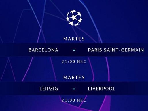 Partidazos dan inicio a los octavos de final de la Champions league