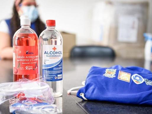 Alcaldía inició entrega de más de 80.000 kits de bioseguridad a instituciones educativas de Ibagué