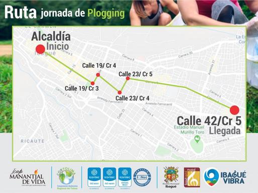 Agentes de Tránsito acompañarán carrera Plogging mañana en Ibagué