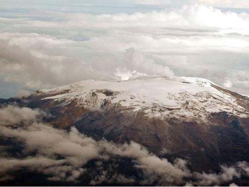 Municipios del norte del Tolima en alerta amarilla por actividad del Nevado del Ruiz
