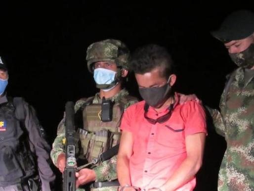 Condena de 5 años a explosivista del frente Ismael Ruiz
