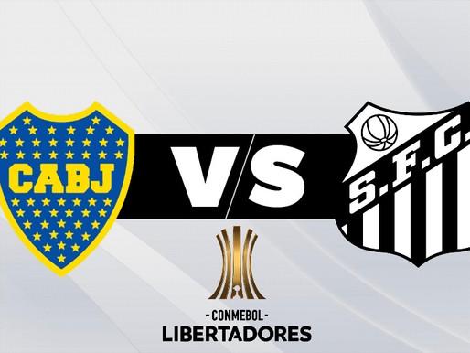 Boca Juniors y Santos protagonizan otro vibrante choque por semifinales de Libertadores