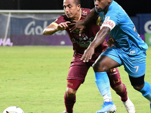 Tolima goleó a Jaguares y logró su tercer triunfo en la Liga