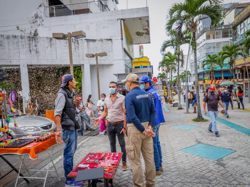 Así avanza Ibagué en la recuperación del espacio público en el centro de la ciudad