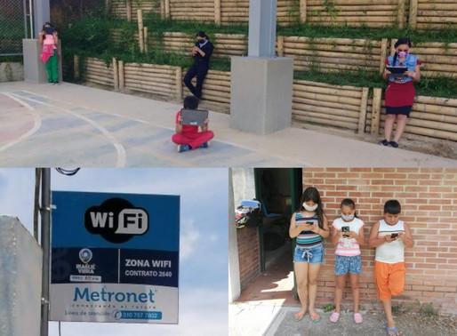 Alcaldía de Ibagué instaló 13 zonas wifi en instituciones educativas oficiales