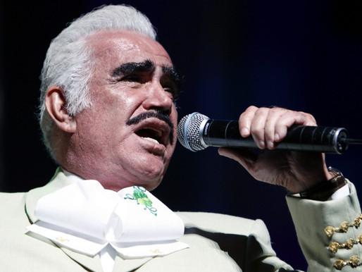 Practican traqueotomía a Vicente Fernández y le retiran el respirador