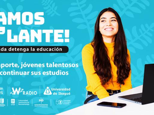Universidad de Ibagué invita a sumarse a la campaña Vamos Pa'lante