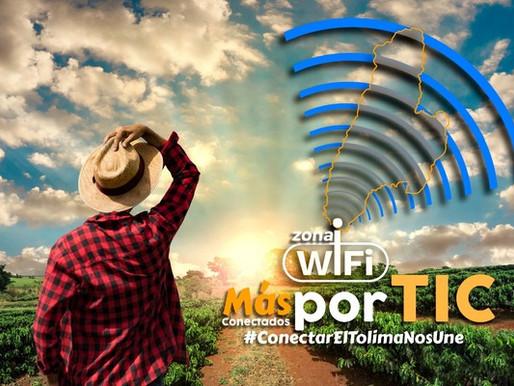 Para mejorar la conectividad del Tolima, La Gobernación instalará 113 puntos Wifi gratis.