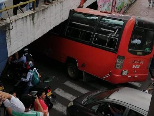 Conductor imprudente ocasionó accidente en la calle 60