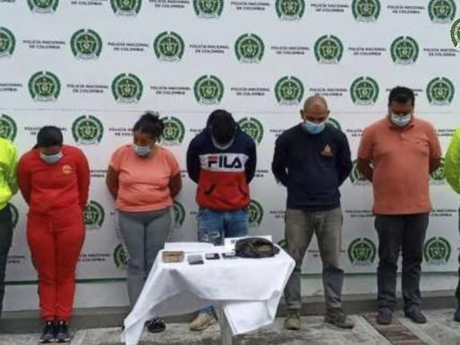 Impactada estructura criminal Los Correcaminos, por presunto hurto a mano armada en Ibagué.