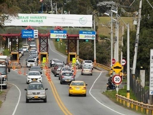En el puente festivo de San José se movilizaron por las vías del país más tres millones de vehículos