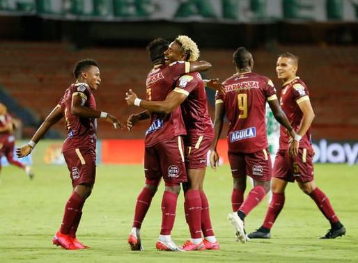 Tolima se trae un empate valioso, pero a la vez peligroso ante Unión La Calera