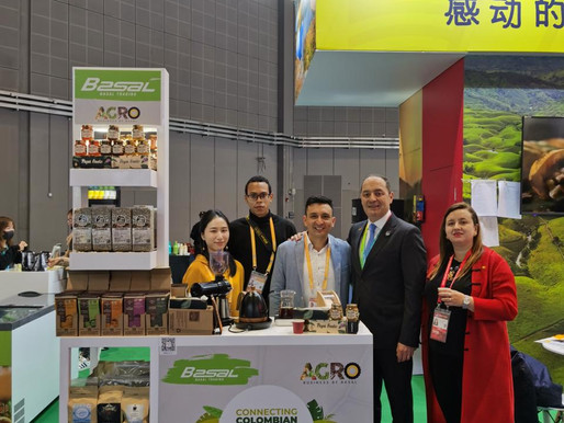 Empresas tolimenses hicieron presencia en la Feria China International Import Expo 2020