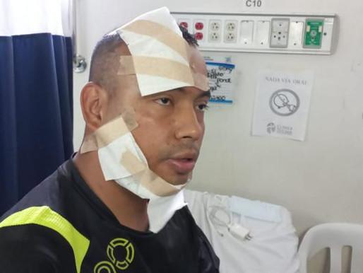En pleno centro de Ibagué atacaron a policía con ácido