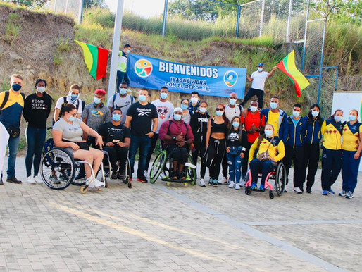 Selección Colombia de Para Atletismo se preparará en Ibagué antes de viajar a Tokio