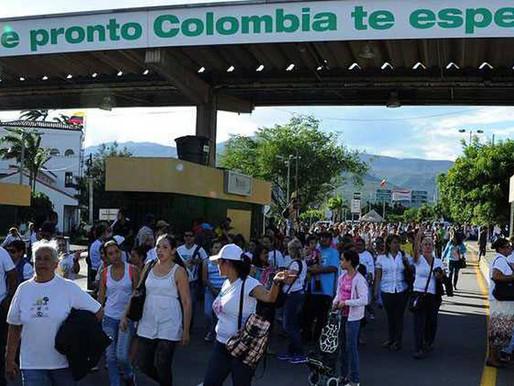 Cierre de pasos fronterizos de Colombia se prolonga hasta junio