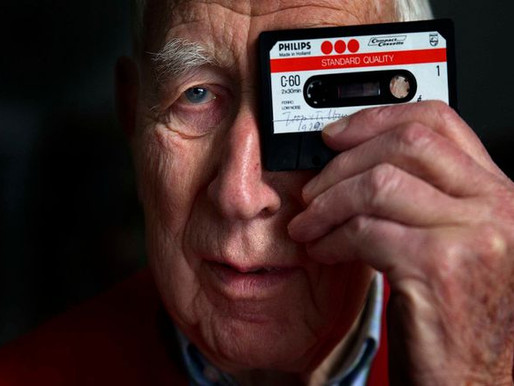 Murió a los 94 años Lou Ottens, el inventor del casete