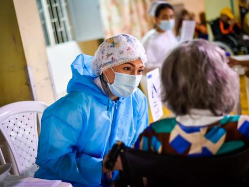 Más de 200 adultos mayores ya fueron vacunados en Ibagué