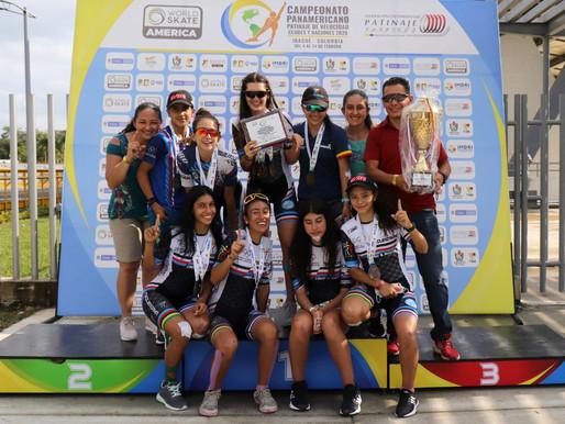 Ibagué y el Tolima los campeones del Panamericano de Patinaje 2021