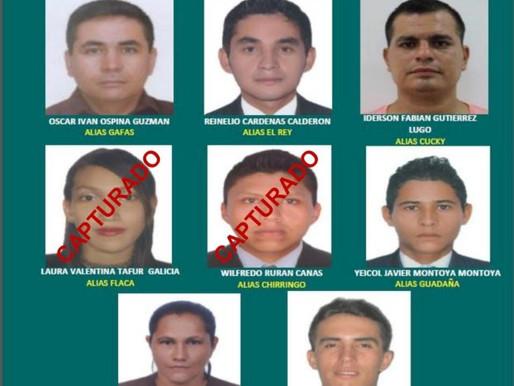 Aquí están los más buscados por la Policía Tolima