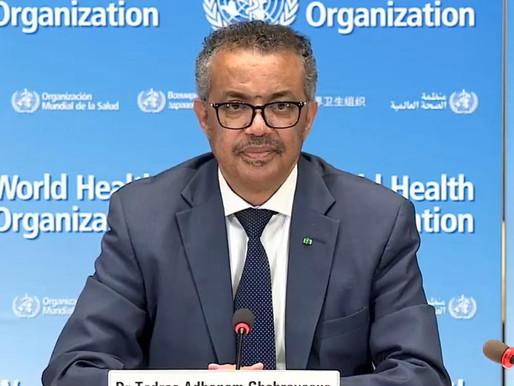 """""""No hay que bajar la guardia"""", advierte la OMS por el descenso de contagios de coronavirus"""