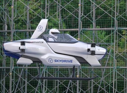 Por primera vez prueban con éxito un carro volador tripulado