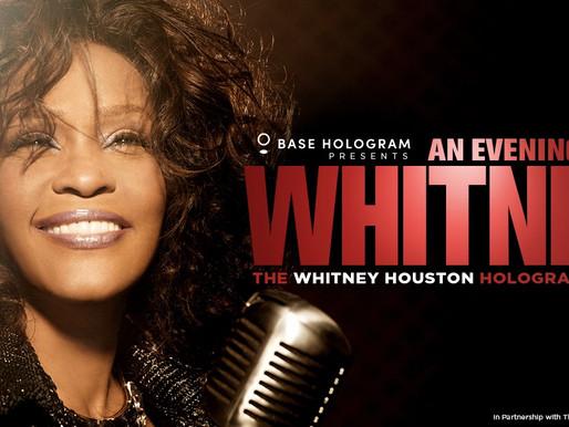 El holograma de Whitney Houston sale de gira por primera vez