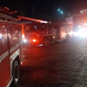 Incendio consumió una bodega en Picaleña